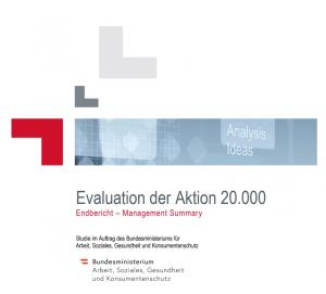 aktion 20.000 evaluierung
