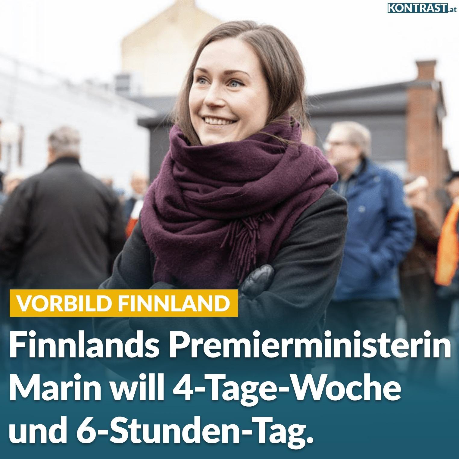 Finnland 4 Tage Woche