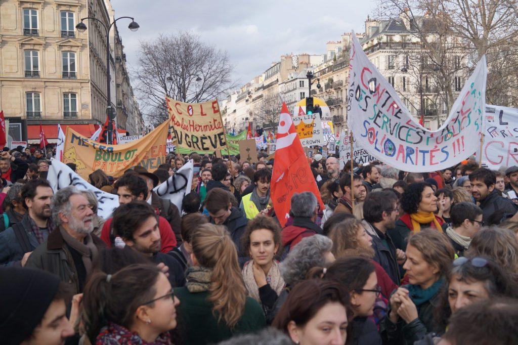 Frankreich: Proteste gegen Rentenreform