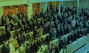 Budgetausschuss: Schwarz-grüne Koalition bringt sich in Aufstellung