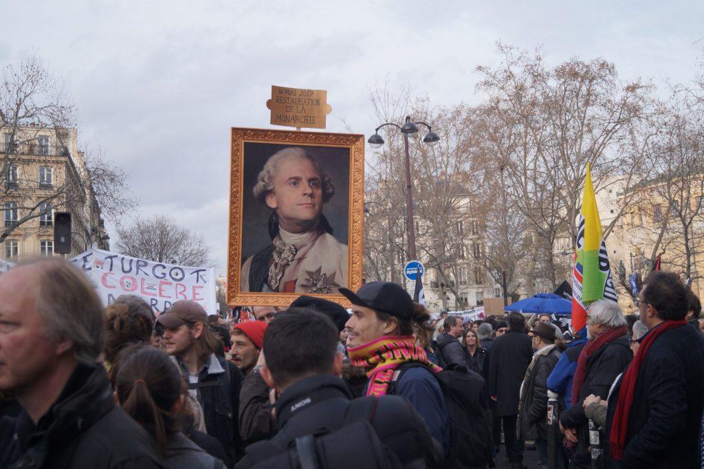 frankreich pensionsreform rentenreform macron streik protest