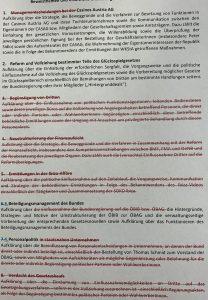 ÖVP und Grüne verhindern den Untersuchungsausschuss Ibiza - er hätte auch ein Untersuchungsausschuss Casinos Austria werden sollen. SPÖ und Neos haben einen Antrag auf einen derartigen Untersuchunsausschuss eingebracht.