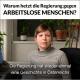 Kurz und die ÖVP erschweren Arbeitslosen das Leben.