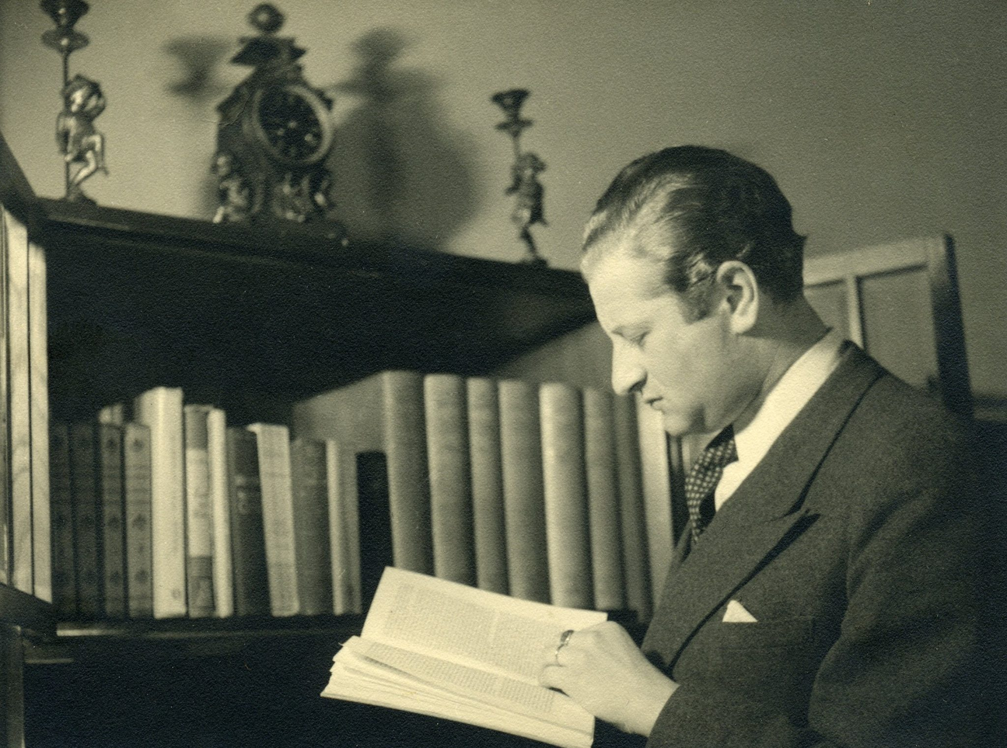 Bruno Kreisky in Schweden, 1942