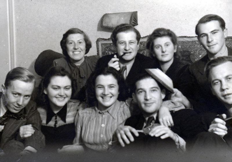Bruno Kreisky im Schwedischen Exil, um 1941Foto: Kreisky-Archiv http://www.kreisky.org