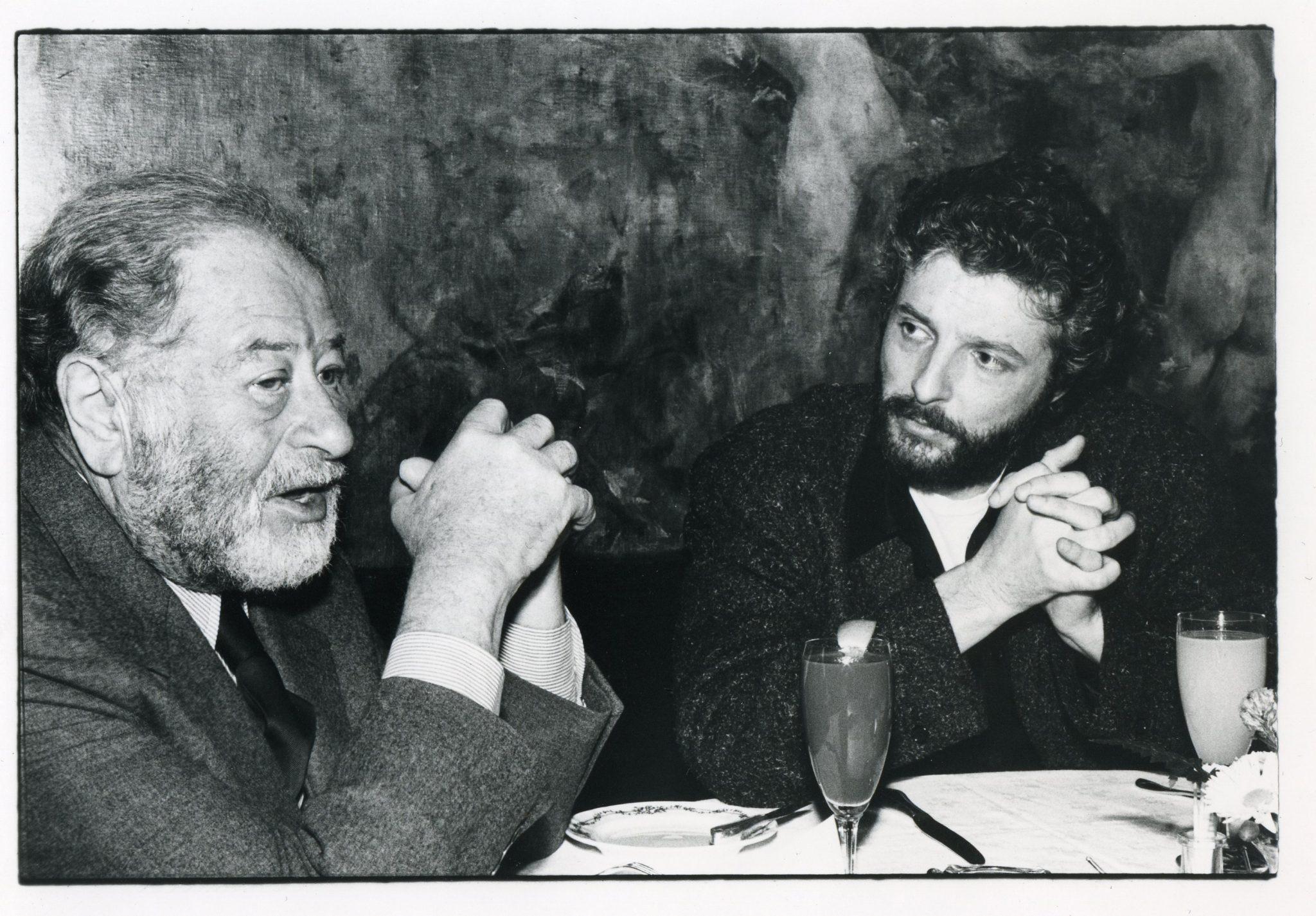 Bruno Kreisky mit André Heller