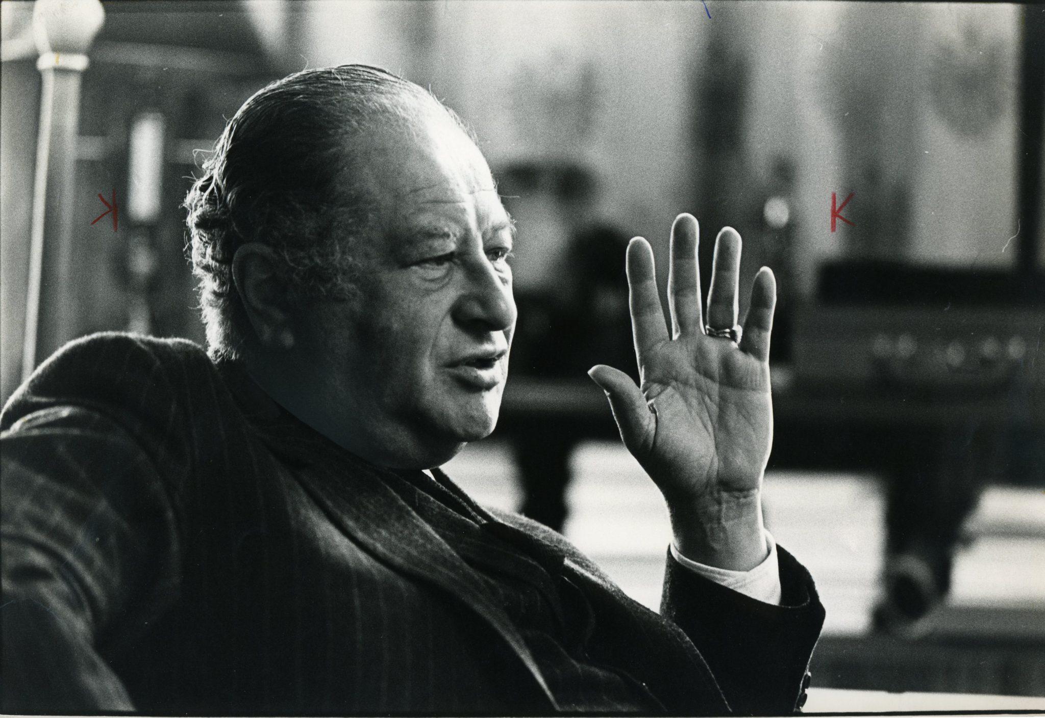 Portrait Bruno Kreisky