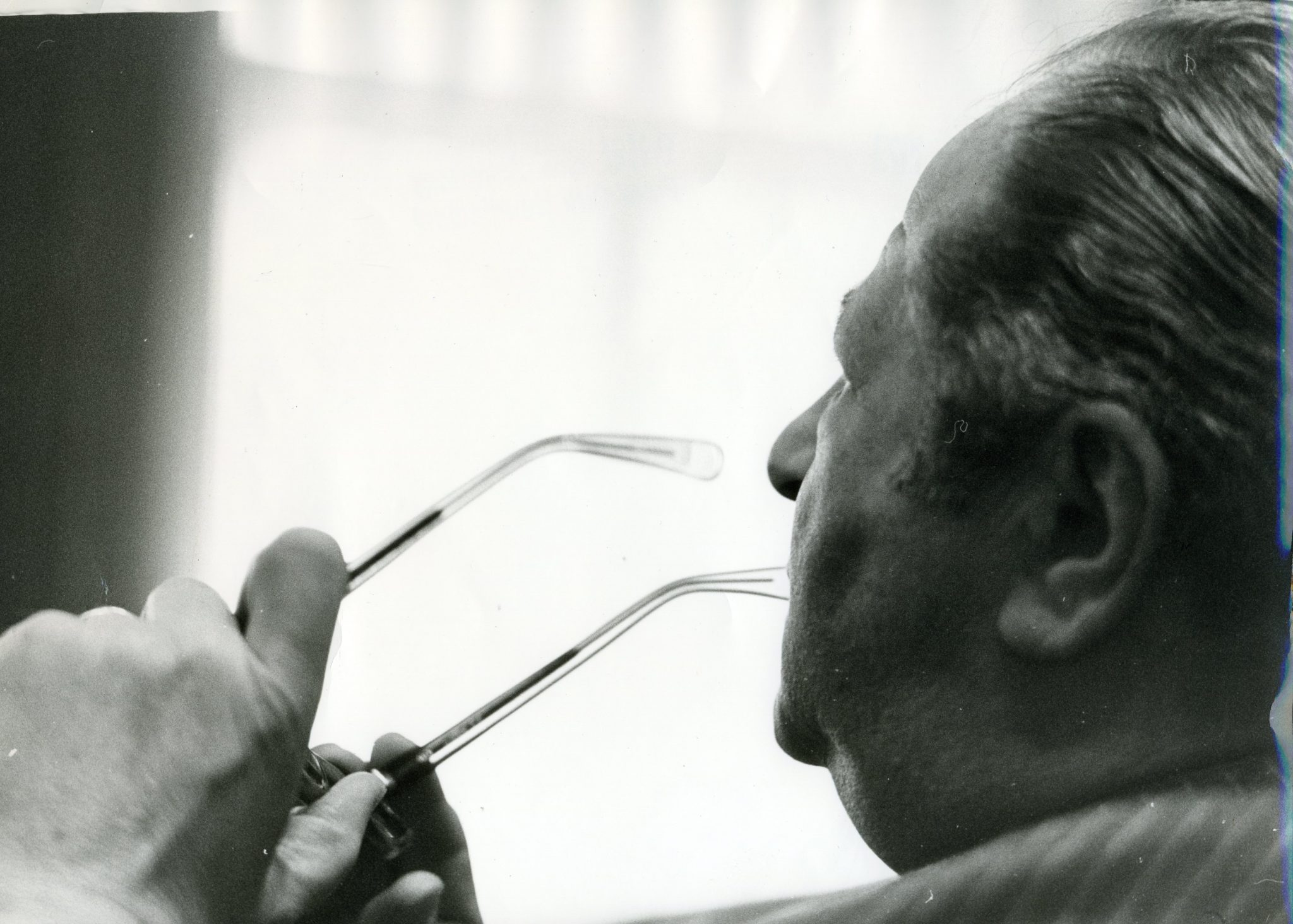 Bruno Kreisky Portrait 1973