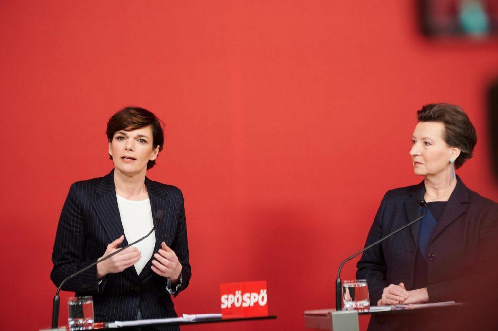 SPÖ will Lohnunterschied zwischen Frau und Mann schließen, so Rendi-Wagner