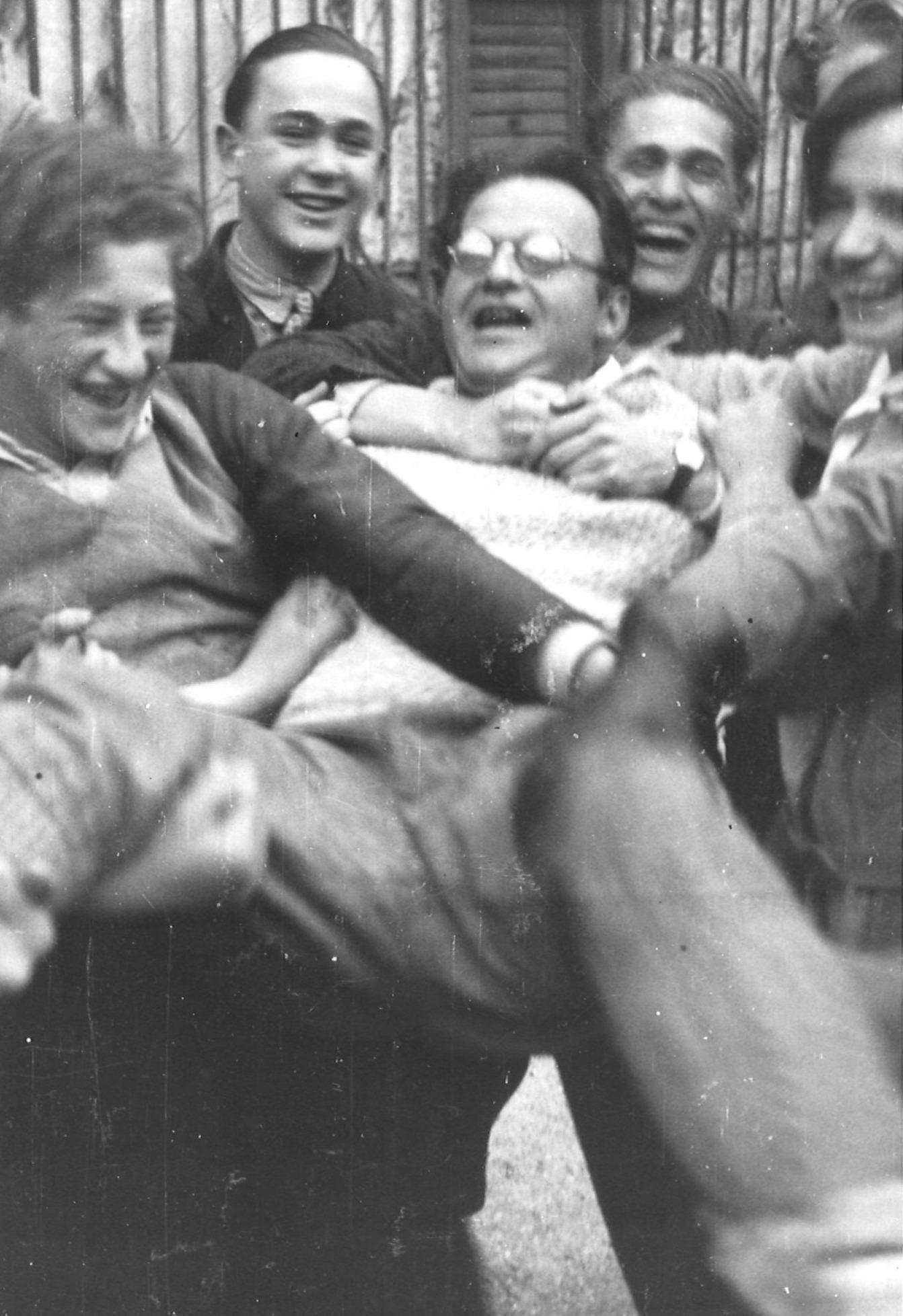 Sozialistische Arbeiter Jugend Schulungstreffen in Gaming Winter 1930