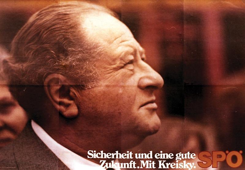 Wahlplakat SPÖ / Kreisky
