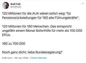 lufthansa aktie staatshilfe österreich