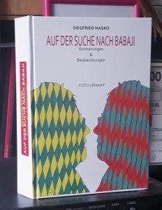 """Das Bild zeigt Siegfried Naskos Werk """"Auf der Suche nach Babaji""""."""