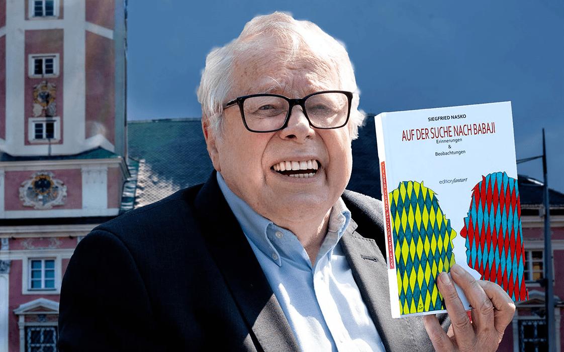 """Dr. Siegfrid Nasko verfasste mit """"Auf der Suche nach Babaji"""" seine Memoiren."""