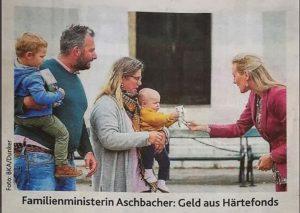 türkis grün Regierung Bilanz 2020: Hunderter Baby
