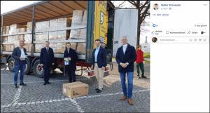 Walter Schnauder ÖVP Oberösterreich Schutzmasken Corona Millionär