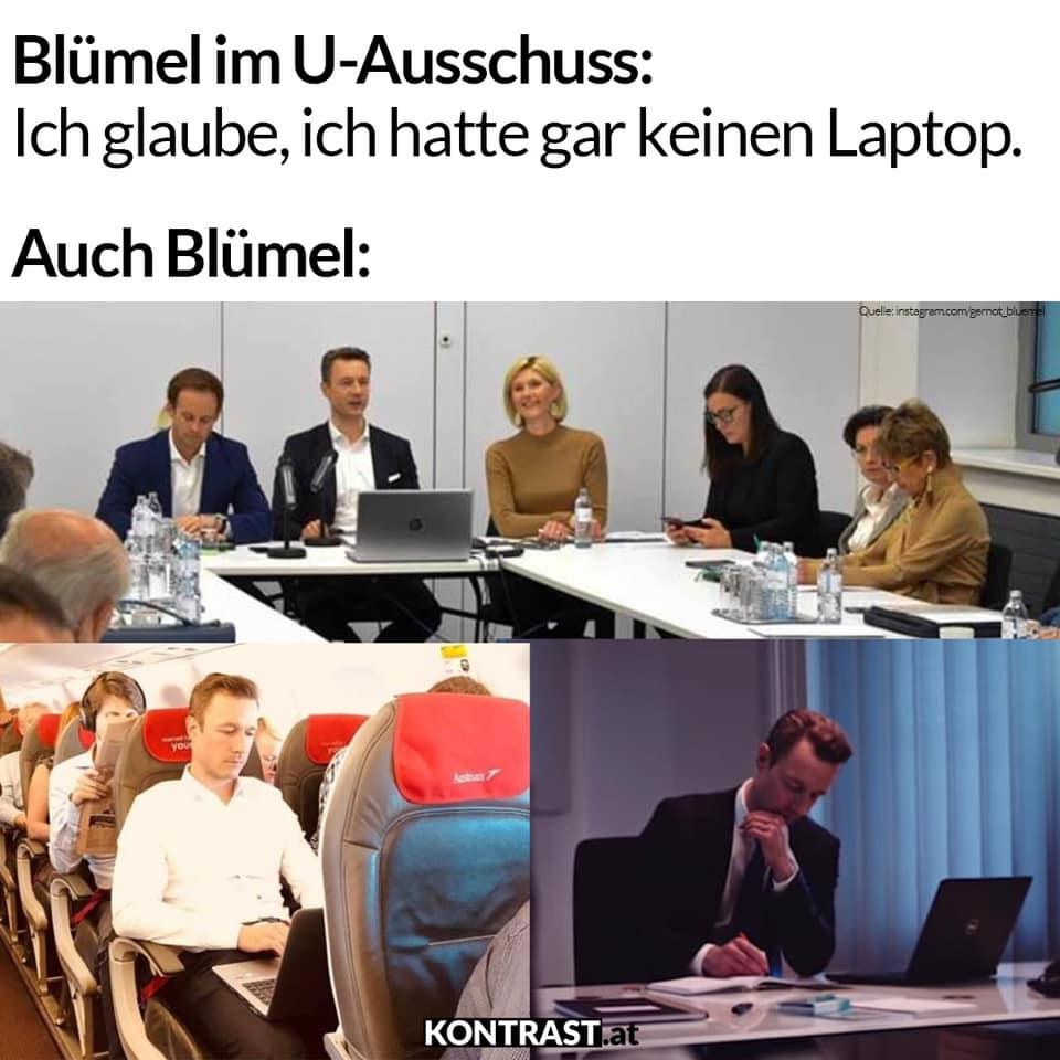 gernot blümel laptop