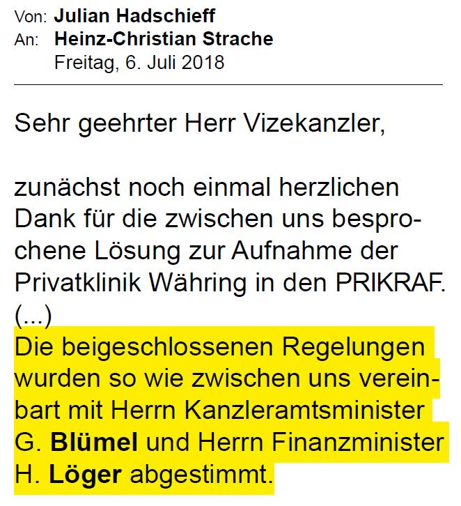 Privatspital bekommt mehr Geld: Von Deal zwischen FPÖ und ÖVP profitiert auch UNIQA