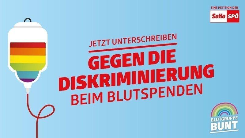 Blutspende für homosexuelle Männer ist in Österreich de facto verboten