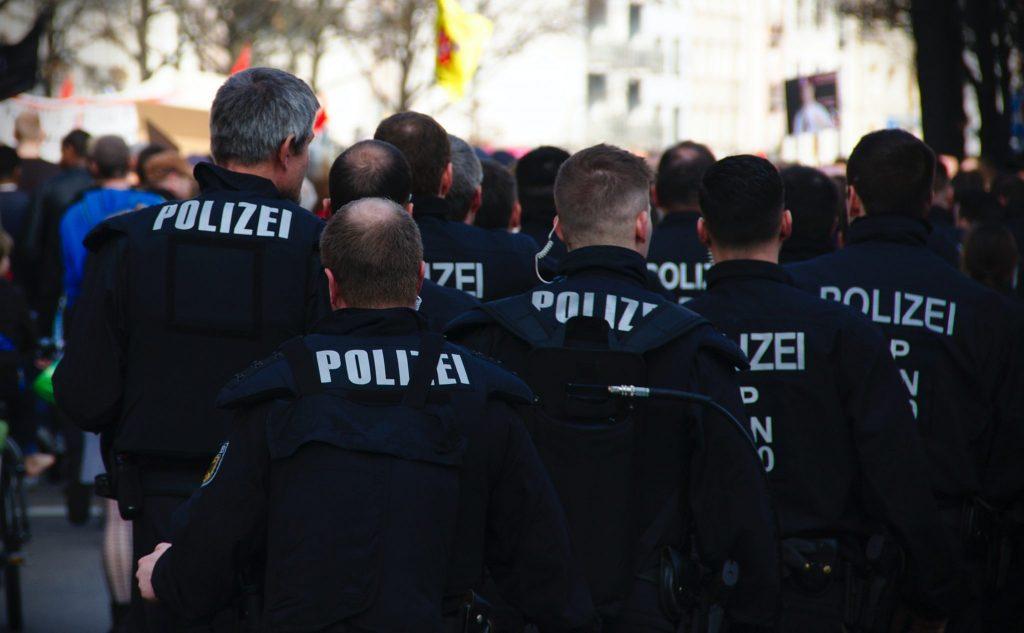 polizei corona test