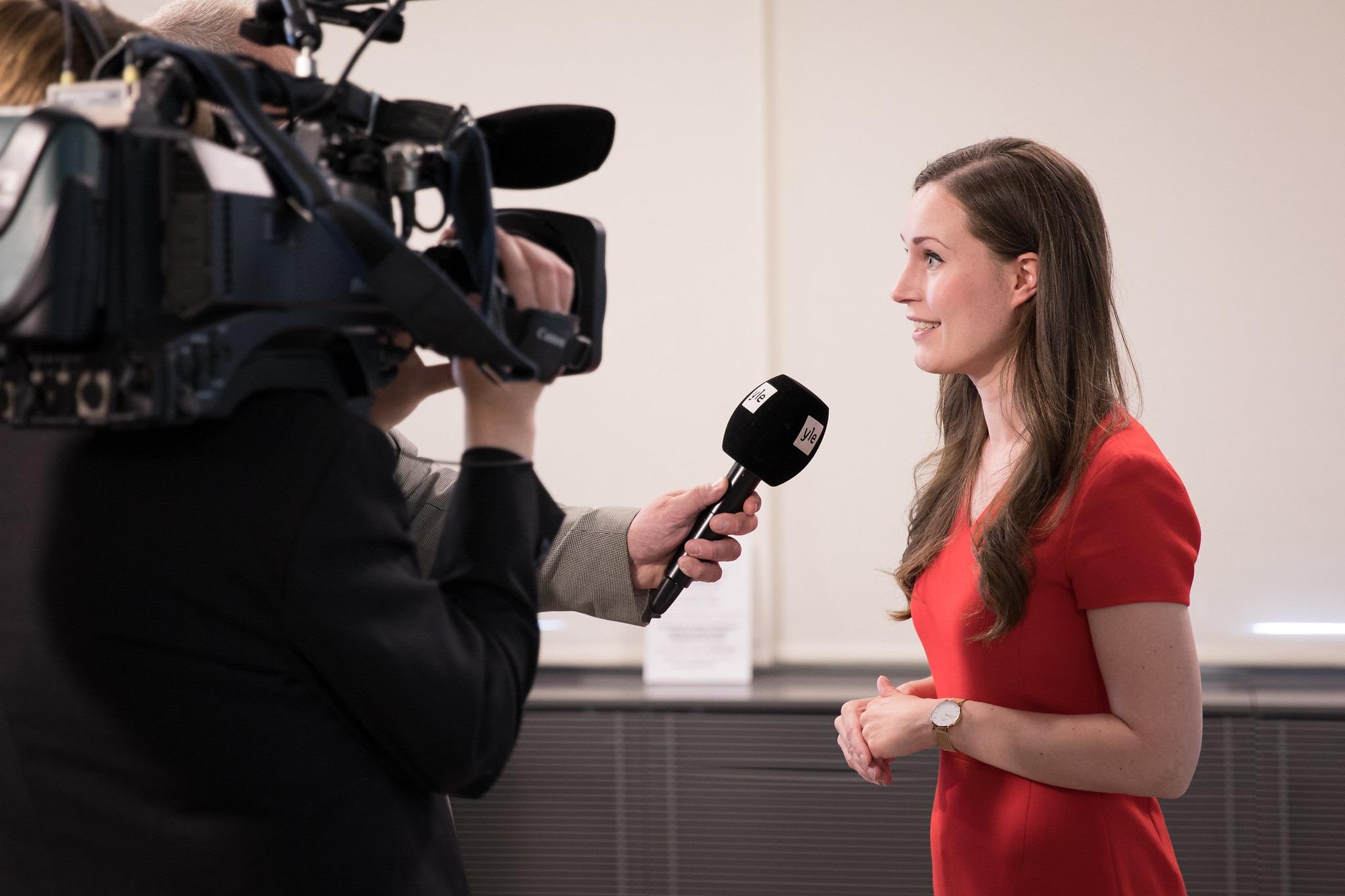 Sanna Marin fordert Arbeitszeitverkürzung für Finnland.