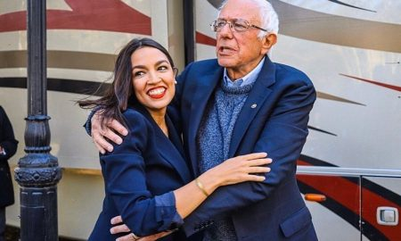 Alexandria Ocasio-Cortez und Bernie Sanders - Foto: Foto: instagram.com/aoc