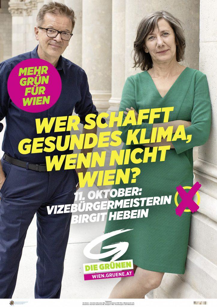 Wien-Wahl 2020: Themen der Grünen: Verkehr und Klima