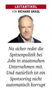 övp politiker angezeigt glatz-kremsner sobotka u ausschuss