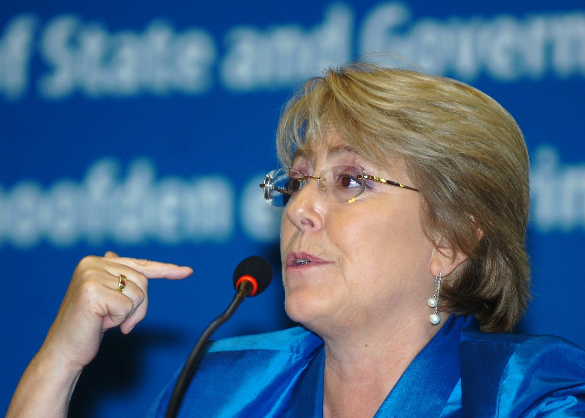 Die frühere Präsidentin Michelle Bachelet - Quelle: Wikimedia Commons/ Antônio Cruz/ABr – Agência Brasil/ CC BY 3.0 br, neue Verfassung, Referendum 2020 gegen Pinochet Verfassung