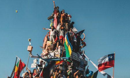 Proteste in Chile für die neue Verfassung