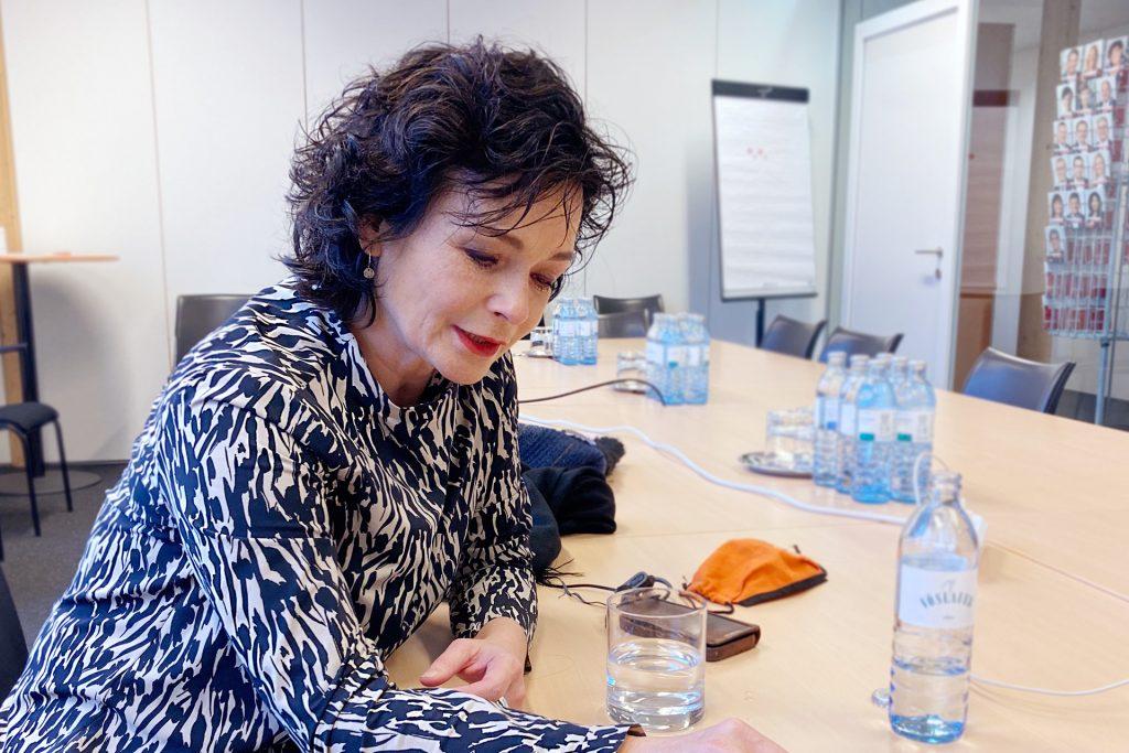 Katharine Stemberger Interview Arbeit