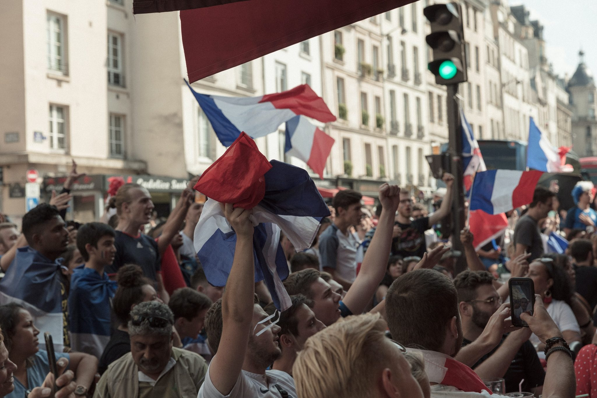 Foto: Proteste in Frankreich. Foto: Khamkéo Vilaysing / unsplash