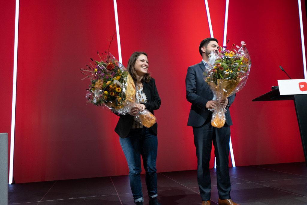 Mattea Meyer & Cédric Wermuth - Foto: Schweizer SP