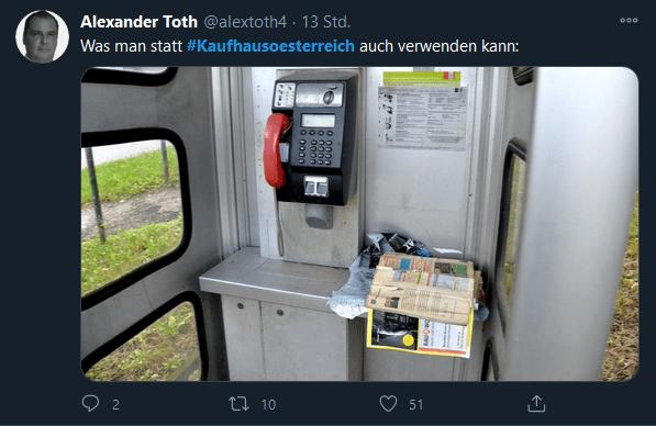 Alexander Toth - Kaufhaus Österreich
