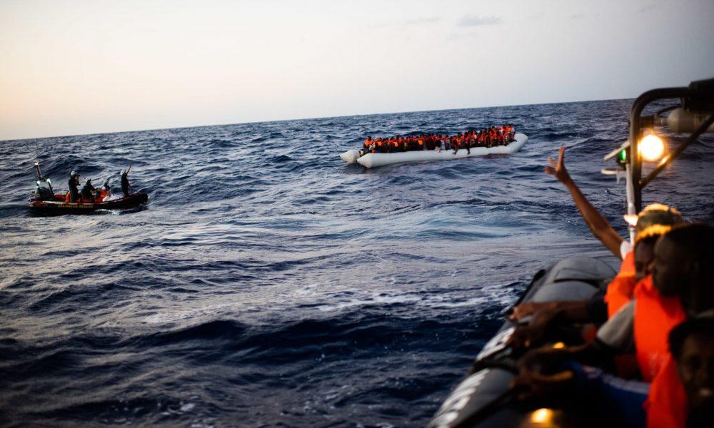 Seenotrettung Flüchtlinge