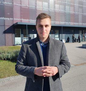 Gegen die Abschiebung von Tina und Co: Felix Niederhuber setzt sich für Petition ein
