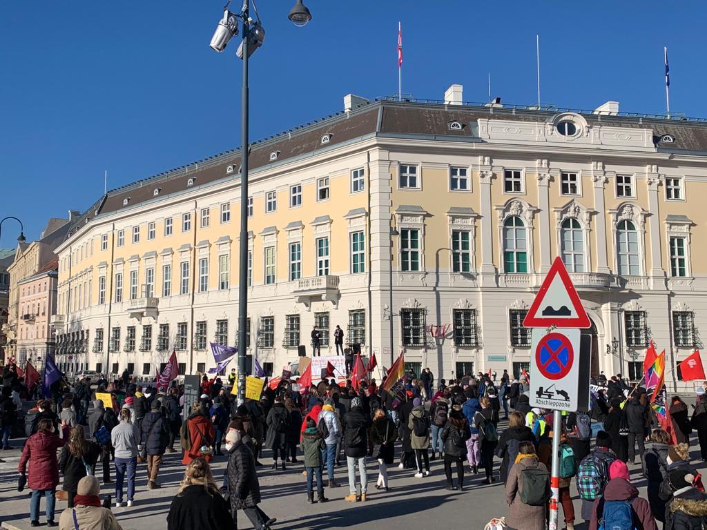 Demo gegen Faßmann