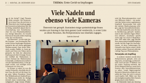 Sebastian Kurz und die Corona-Impfung: Standard-Artikel