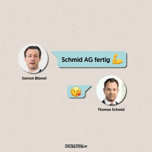 Thomas Schmid Chats: Blümel an Thomas Schmid