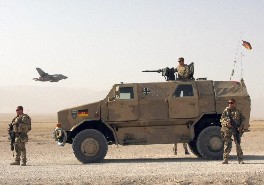 USA kündigen Abzug aus Afghanistan an. Deutsche Truppen ziehen mit.