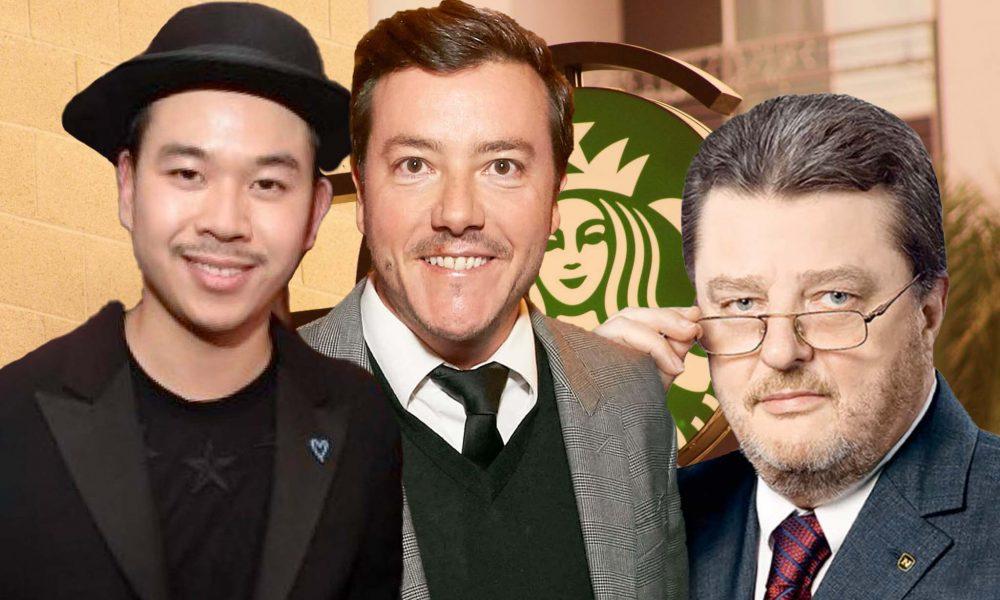Martin Ho, Rene Benko, Johann Graf, Starbucks (Fotos: ©️ leisure.at/Christian Jobst, ©️ Andreas Tischler http://www.andreastischler.com, ©️ Novomatic)
