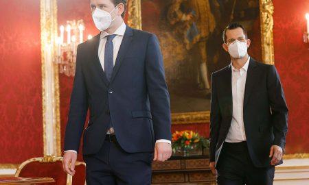 Sebastian Kurz und Wolfgang Mückstein (Foto: BKA / Dragan Tatic)