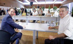Ministerrat mit ÖVP und Grünen - Foto: BKA/Wenzel