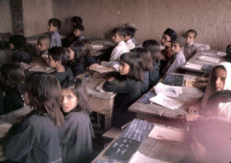 Schule in Afghanistan 1967 (Foto: Bill Podlich)