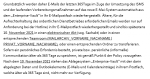 Anordnung Schreddern Daten Löschen Bernd Brünner BKA