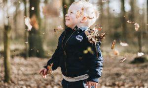 Kleinkind Bub Herbst unsplash
