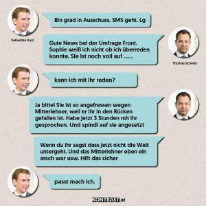övp chats Chat-Protokoll Thomas Schmid u Sebastian Kurz - ÖVP-Hausdurchsuchung