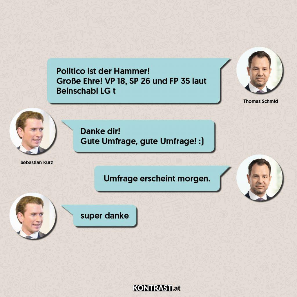 Chat-Protokoll Thomas Schmid u Sebastian Kurz - ÖVP-Hausdurchsuchung